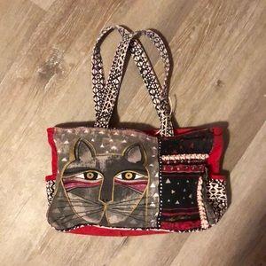 Handbags - Vintage cat purse